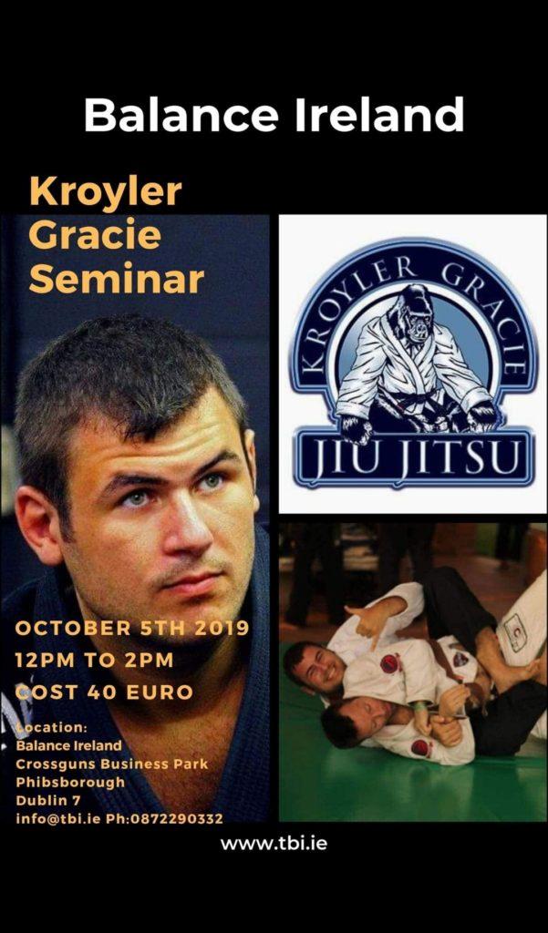 BJJ Seminar Dublin Oct 2019